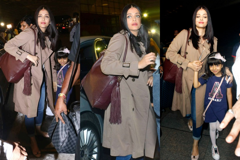 Cannes 2017 Aishwarya Rai touches down at the Cte dAzur readies for red carpet
