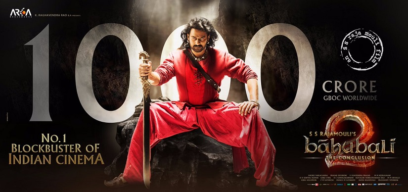 Baahubali 2s Rs 1000 crore collection How SS Rajamoulis film achieved its box office numbers