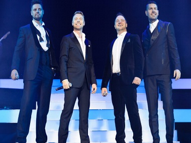 Boyzone to reunite for their 25th anniversary touring begins from next year