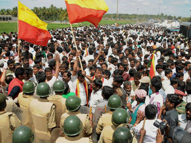 Cauvery issue continues to cast shadow over Karnataka polls as all parties claim to support states interests over Tamil Nadus