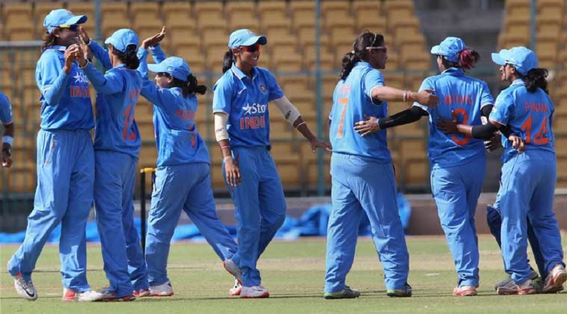 File image of Indian women's cricket team. PTI