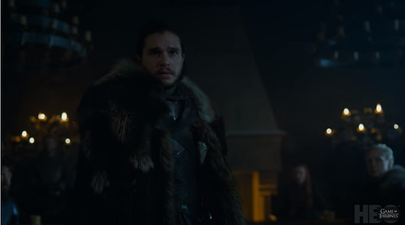 Game of Thrones season 7 trailer As Jon Snow warns The Great War is here