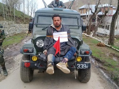 Human shield case Jammu and Kashmir rights body seeks fresh report on army officer Major Leetul Gogois actions