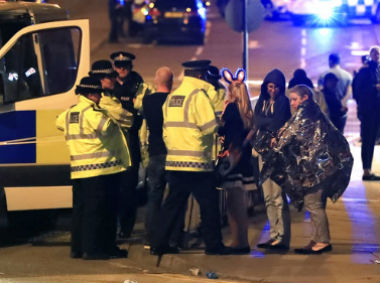 Manchester terror attack Theresa May condemns blast at Ariana Grande concert calls it appalling