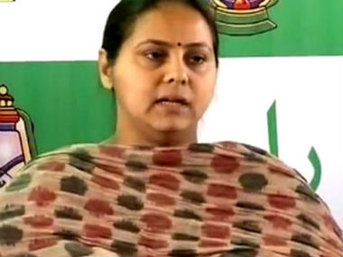 Lalu Prasads daughter Misa Bharti appears before ED in 8000crore money laundering case