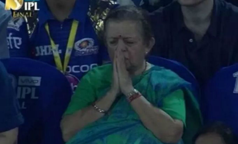 IPL final 2017: 'Nani' praying for Mumbai Indians wins hearts in thrilling victory