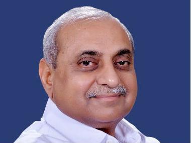 Gujarat deputy chief minister Nitin patel. Image courtesy: @Nitin_patel
