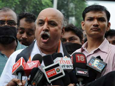 Pravin Togadia announces march from Lucknow to Ayodhya for Ram Mandir movement on 21 October