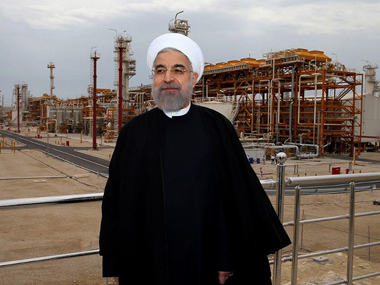 A file photo of Hassan Rouhani. AFP