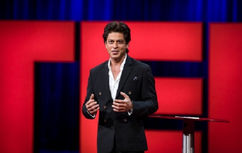 Shah Rukh Khan at Ted Talk, Vancouver. Twitter