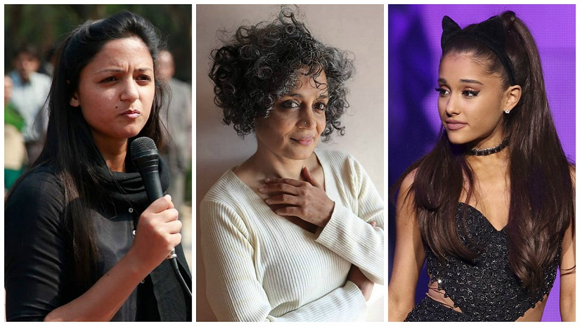 Ariana Grande, Arundhati Roy, Shehla Rashid: The scariest thing in the world, is a powerful woman