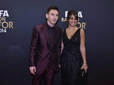 Barcelona forward Lionel Messi to tie the knot with childhood sweetheart Antonella Roccuzzo