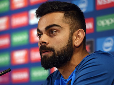 File image of India's captain Virat Kohli at a press conference. AFP
