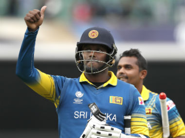 Angelo mathews' wicket was the turning point for Pakistan. AP