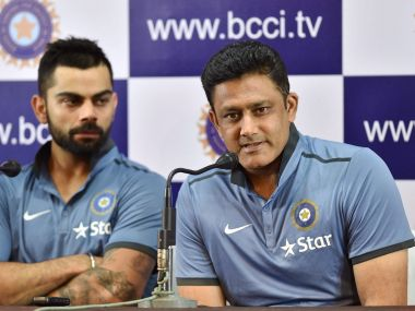 West Indies vs India: Coach Anil Kumble does not accompany squad for tour, stays back for ICC meeting