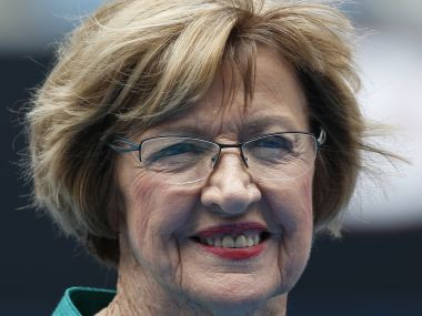 Margaret Court says treat me like Laver asks Tennis Australia to commemorate 50th anniversary of her calendaryear Grand Slam