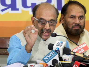 BJP leader Vijay Goel calls Delhis OddEven scheme election stunt says he will take to National Capitals streets to oppose move today