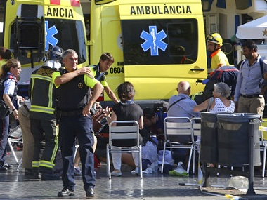 Barcelona terror attack Britain stands with Spain against terrorism says Theresa May