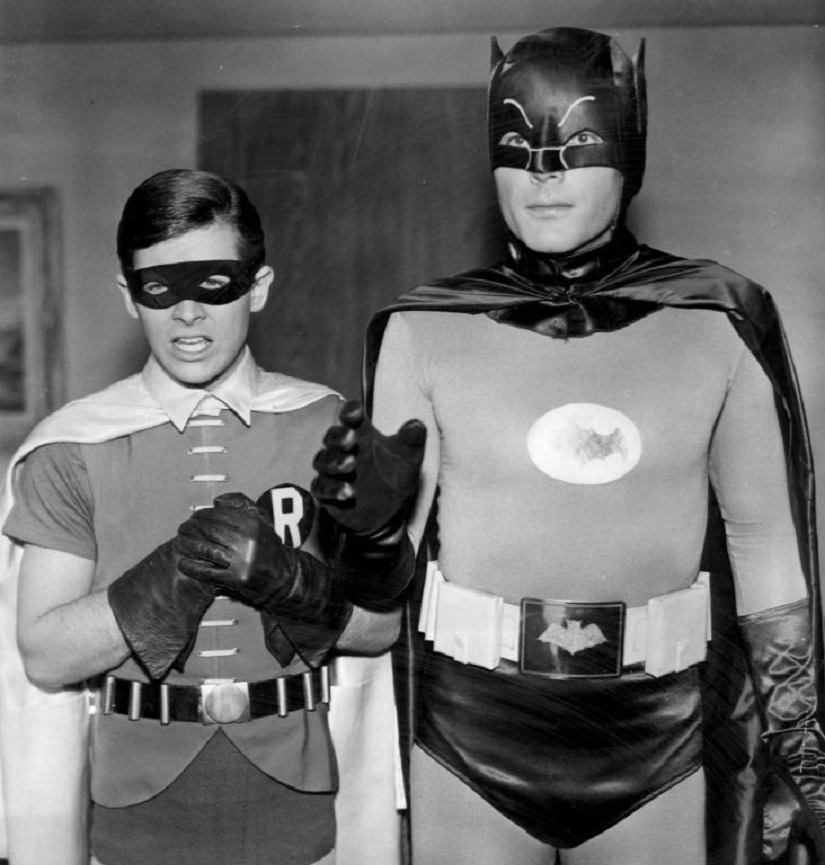 Adam West as Batman. Image from Wikimedia Commons