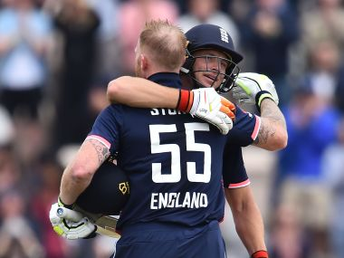 In Ben Stokes (L) England have one of the best all-rounders in the world. AFP