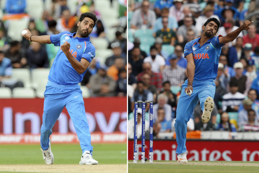 India have a potent, if not fearsome. attack in Bhuvneshwar Kumar and Jasprit Bumrah. AP