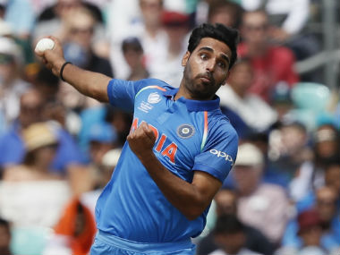 Bhuvneshwar Kumar deserves a pat on his back for being able to trouble batsman despite the evident lack of swing in the white balls in the ongoing Champions Trophy 2017. AP