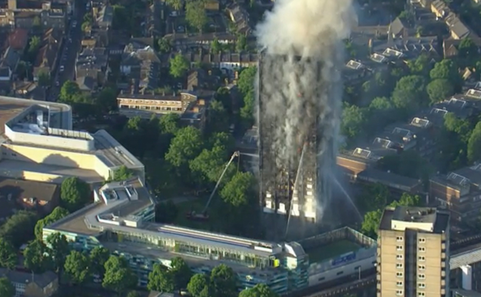Grenfell Tower in London catches fire: 30 injured, several feared dead