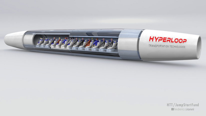 Image courtesy Hyperloop Travel Technologies