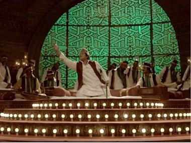 Chadhta Sooraj, latest qawwali number from Indu Sarkar. Screen grab from YouTube