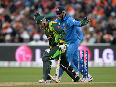 File image of an India-Pakistan clash. Getty images