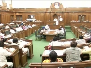 BJP MLAs marshalled out of Delhi Assembly for creating ruckus over presence of disqualified AAP leader Kailash Gehlot