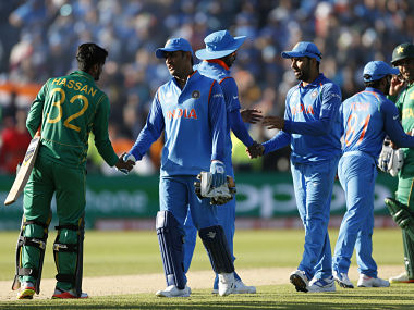 MS Dhoni's experience will come in handy for India in the middle order while Hasan Ali will be the key with the ball for Pakistan. Reuters