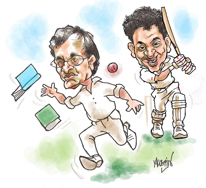 In his resignation from the Committee of Administrators (COA) last week, Ramachandra Guha had mentioned several contentious issues that were hurting Indian cricket. One among them, and a very prominent one, was 'conflict of interest'. Illustration courtesy Austin Coutinho