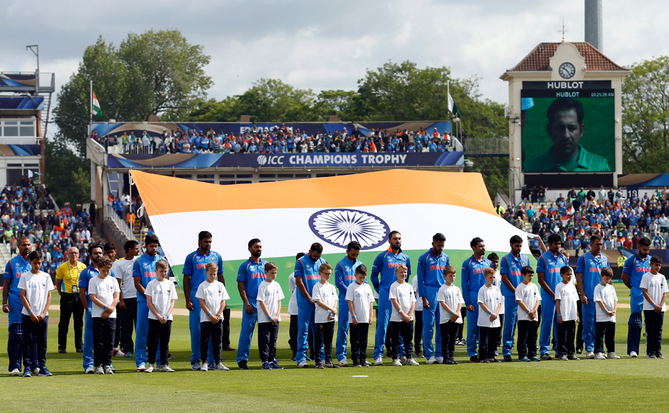 ICC Champions Trophy 2017: India trash Pakistan by 124 runs in a rain-reduced encounter