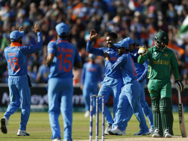 India bundled out Pakistan for 164. Reuters