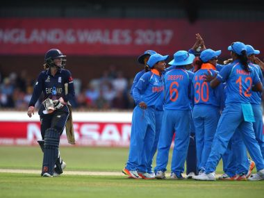 India's batters put in a stellar effort to build a platform for impressive win over England. Twitter/ @cricketworldcup