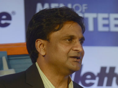 File photo of Javagal Srinath. AFP