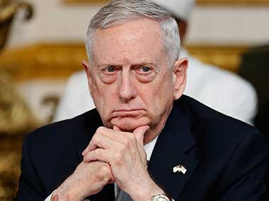 Jim Mattis to Turkey US will take back arms provided to Syrian Kurds after recapturing Raqqa