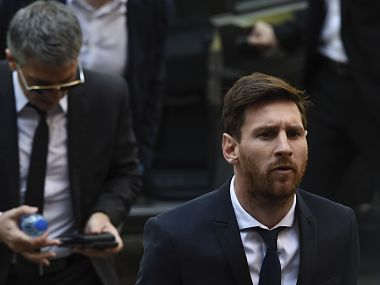 Lionel Messi tax fraud case: Prosecutors not against replacing Barcelona star's jail term with fine