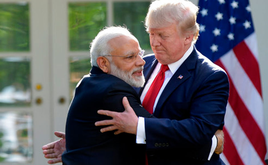 Narendra Modi meets Donald Trump at White House: US president praises PM for bringing economic growth to India