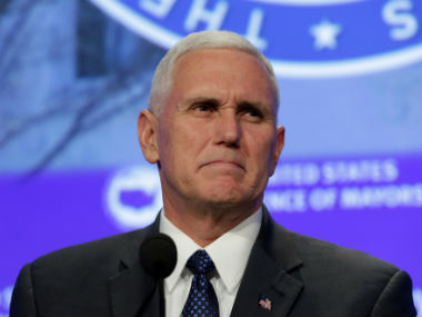 Senate Republicans vote to open debate on Obamacare repeal after Mike Pence breaks deadlock