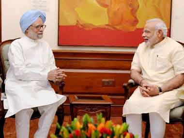 Narendra Modi wishes Manmohan Singh on his 85th birthday