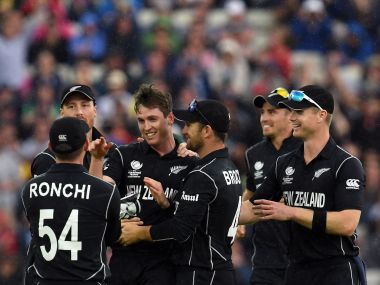 New Zealand are the first team to be out of the tournament. AFP