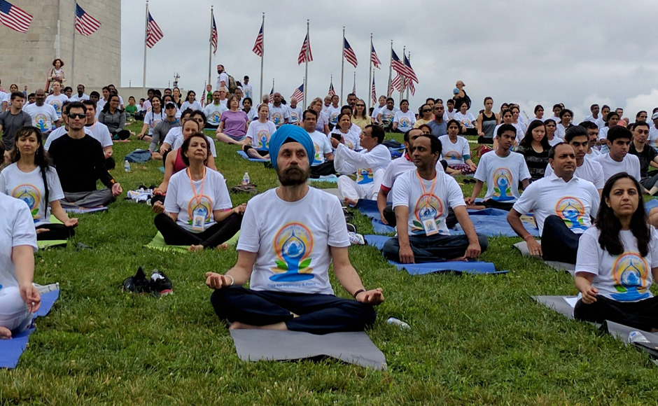 International Yoga Day celebrated in China