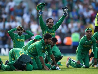 Pakistan won their first ICC Champions Trophy title. Image courtesy: ICC Cricket