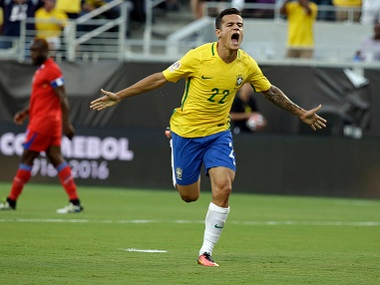 International friendlies: Brazil's Philippe Coutinho doubtful for Japan clash but could feature against England
