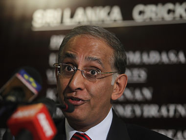 Former chief executive of the International Cricket Council (ICC) Haroon Lorgat speaks to reporters during a news conference at the Sri Lanka Cricket board in Colombo August 29,2012. Sri Lanka Cricket has appointed ICC's former chief executive Lorgat as a special advisor to help the governing body overhaul its domestic cricket structure and improve the game's administration. REUTERS/Dinuka Liyanawatte (SRI LANKA - Tags: SPORT CRICKET) - RTR378EZ