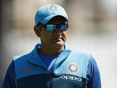 Britain Cricket - India Nets - The Oval - June 10, 2017 India coach Anil Kumble during nets Action Images via Reuters / John Sibley Livepic EDITORIAL USE ONLY. - RTS16GJO