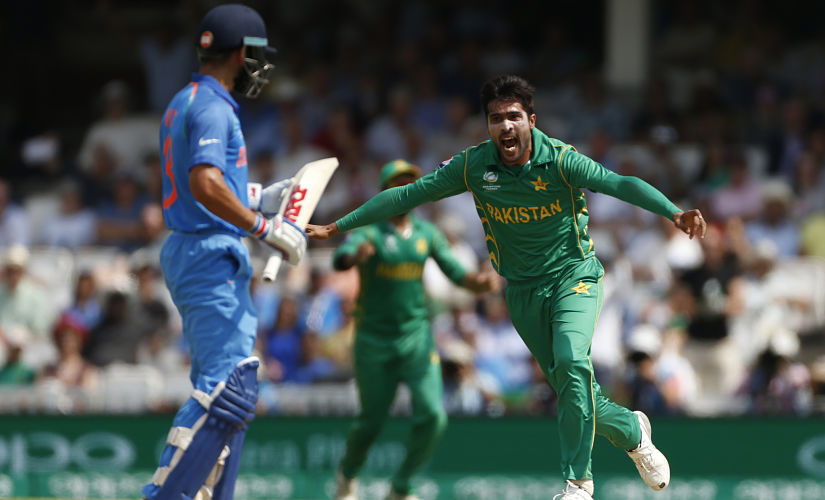 Mohammad Amir wreaked India's top order the last time India and Pakistan played, in the Champions Trophy final in 2017. Reuters/ File