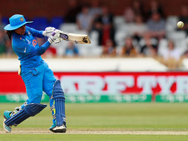 Cricket - England vs India - Women's Cricket World Cup - The 3aaa County Ground, Derby, Britain - June 24, 2017 India's Mithali Raj in action Action Images via Reuters/Jason Cairnduff - RTS18GHH